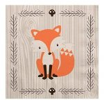 Woodland Creatures – Baby Shower or Birthday Party Luncheon Napkins (16 count)