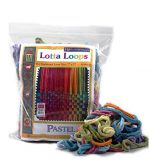 Harrisville 7″ Pastel Lotta Loops in Assorted Colors – Makes 8 Potholders