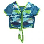 Aqua Leisure Boys Swim Training Vest with Sleeves, Small