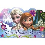 Disney Frozen Birthday Party Invitation Cards Supply (8 Pack), Multi Color, 4 1/4″ x 6 1/4″.