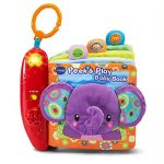 VTech Peek and Play Baby Book – Purple – Online Exclusive