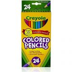 Crayola Colored Pencils, Assorted Colors, 24 count (12 Pack)