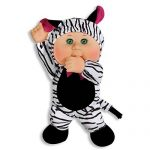 Cabbage Patch Cutie Safari Friends – Keiko Zebra
