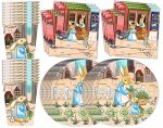 Peter Rabbit Birthday Party Supplies Set Plates Napkins Cups Tableware Kit for 16