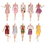 Buytra 10pcs Handmade Gorgeous 11″ Barbie Doll Party Clothes Dress