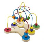 Melissa & Doug Classic Bead Maze – Wooden Educational Toy