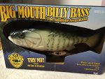 Gemmy Inflateables Holiday G08 47957 Big Mouth Billy Bass 15th Anniversary Be Happy Decor