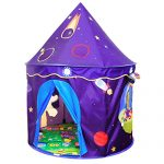 Play Tent For Kids Castle Playhouse With Space Pattern For Children Perfect Gift for Any Child