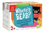 Peaceable Kingdom Where's Bear? – The Hide-and-Find Stacking Block Game for 2-Year-Olds