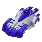 TONOR 4CH Remote Control RC Wall Climbing Climber Rocket Toy Car Racer Blue