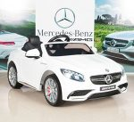 Mercedes-Benz S63 Ride on Car Kids RC Car Remote Control Electric Power Wheels W/ Radio & MP3 White