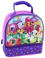 Shopkins Dual Compartment Insulated Lunch Bag – Great for Back to School!