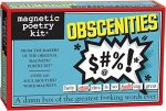 Magnetic Poetry – Obscenities Kit – Words for Refrigerator – Write Poems and Letters on the Fridge – Made in the USA