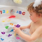Vktech® 36pcs Educational Floating Bath Letters & Numbers stick on Baby Kids' Bathroom Toy