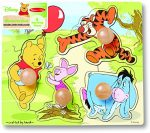 Melissa & Doug Disney Baby Winnie the Pooh and Friends Jumbo Knob Wooden Puzzle