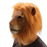 Ylovetoys Lion Latex Animal Mask Halloween Party Costume Decorations