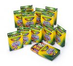Crayola; Ultra-Clean; Large Crayons; Art Tools; 12 Packs of 16 ct. Crayons; Bright, Bold Washable Colors